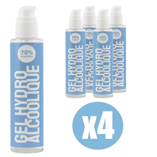 Gel Hydroalcoolique 250 ml x4